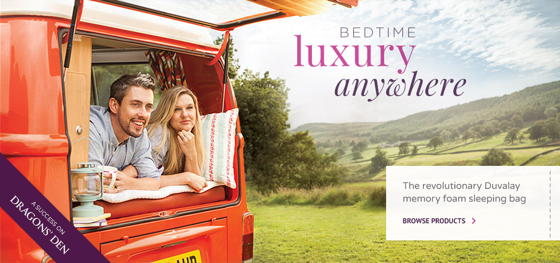 Bedtime luxury anywhere