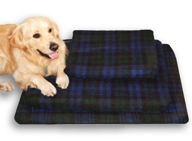 Blackwatch Tartan Pet Bed